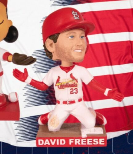 (2) David Freese Bud Bash VIP Autographs + Bobbleheads + 8/17 Tickets Cardinals