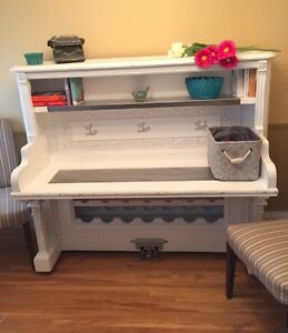 Authentic stand-up piano wet bar