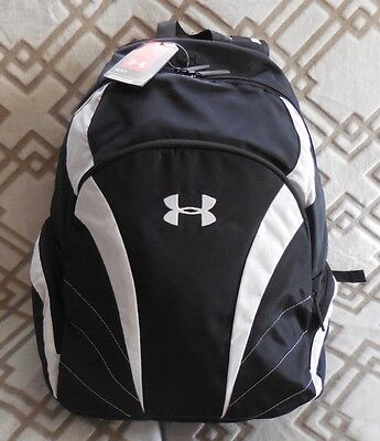 UNDER ARMOUR Men's UA Ignite Backpack Color Black/White NEW