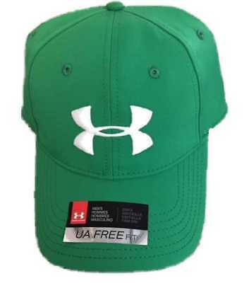 2018 Under Armour Renegade Hat Mens Adjustable Cap - Kelly Green