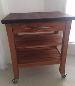 Mobile Kitchen Trolley – Work Bench – Servery - Island Tingalpa Brisbane South East Preview
