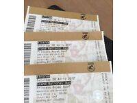 Grand National Day 2017 Princess Royal Roof tickets X 4