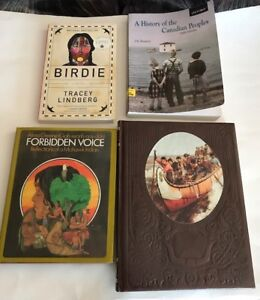 Four Indigenous and Canadian Themed Books