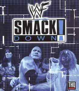 PS1 WWF SMACKDOWN WITH MANUAL