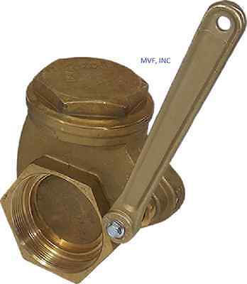 Quick Opening Gate Valve Bronze 3 Npt 200 Wog Lever Operated New Lv300npt