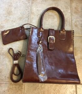 Brand New Leather Purse and Wallet Set