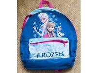 Two Frozen kid's backpacks