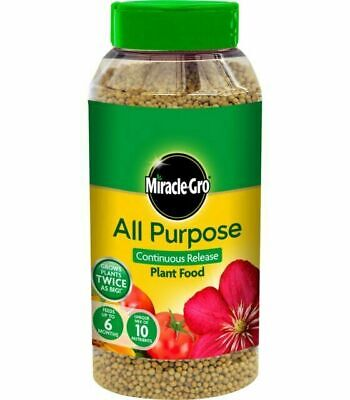 Miracle Gro All Purpose Continuous Release Plant Food 1 kg Shaker Jar