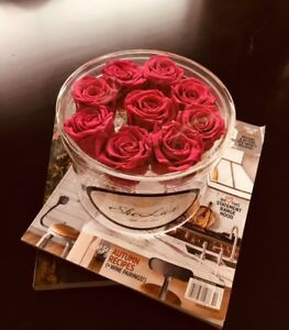Preserved Roses and Soap Flower