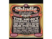 Shindig festival ticket £70