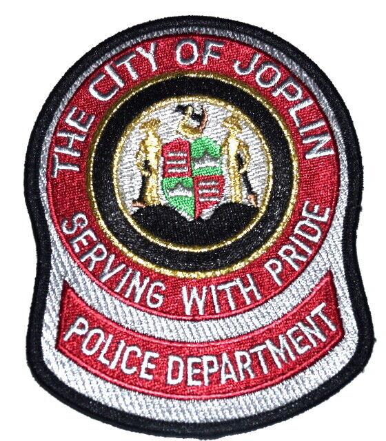 JOPLIN MISSOURI MO Sheriff Police Patch CITY SEAL LOGO ARM HAMMER SHIELD ~