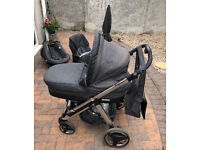 Bebecar Ip Op Evolution Travel System Plus Accessories carry cot / push chair / car seat
