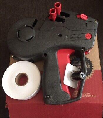 Monarch 1136-01 Price Gun 2 Line New 1 Roll Wht Labels Inkfree Freight