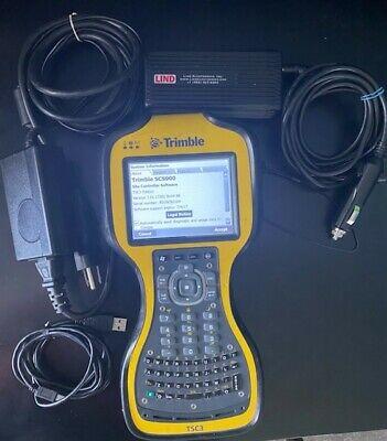 Trimble Tsc3 Gps Data Collector W Scs900survey Construction