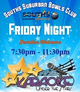 Karaoke @ Souths Suburban Bowls Club ♬♪♫ 24th February 2017 Mackay Mackay City Preview
