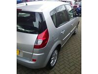 ((( £30 ROAD TAX A YEAR ))))* RENAULT SCENIC 1.4 DCI DIESEL(56 PLATE)*5 SEATER*MPV*ESTATE*MOT-1 YEAR