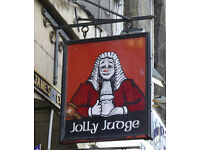Bar Supervisor - The Jolly Judge