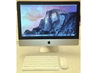 "Apple iMac 21.5"" Core i3/ 500GB HD/ 8GB RAM, Photoshop, Final Cut, Logic Pro*"