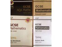 CGP, GCSE mathematics 4 pack