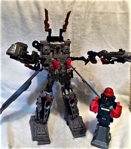 TRANSFORMER TOY EXC. COND. 15 INCHES TALL NICE XMAS PRESENT.