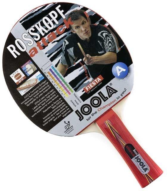 Joola Tischtennis Schläger, Tischtennisset Rosskopf Attack