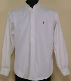 Men's Ralph Lauren White Oxford Shirt