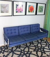 Vintage Chrome Sofa