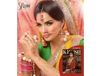 Asian bridal makeup/bridal makeup/arabic makeup/Indian bridal makeup