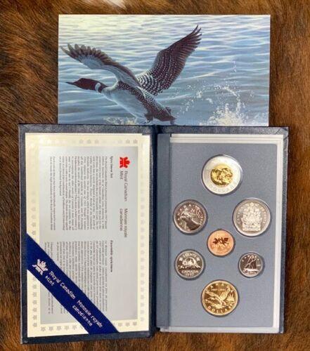 1997 Royal Canadian Mint 7 Coin Specimen Set. (s18)