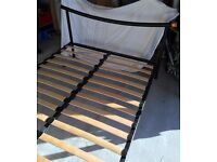 Double bed (black)