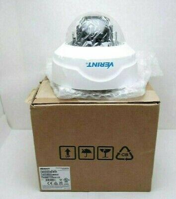 New Verint V4530fdw-dn 70-300-6452 Ip Outdoor High Resolution Dome Camera In Box