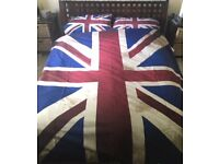 Union Jack Bedding for a double bed