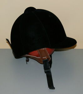 Lexington Child's Riding Helmet - size 6 1/2, black velvet
