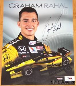 2013-Graham-Rahal-signed-Midas-Honda-Dallara-Indy-Car-postcard