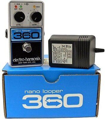 New Electro-Harmonix Nano Looper 360 Guitar Pedal EHX