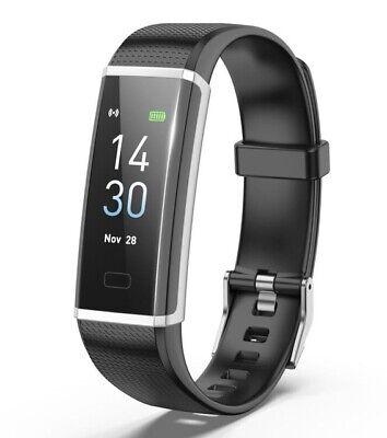 Smartwatch Armband Smartband Fitness Tracker Pulsuhr Blutdruck für Android IOS (Android Fitness-tracker Uhr)