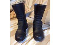 Alpinestars Motorbike boots, waterproof, as new size 41