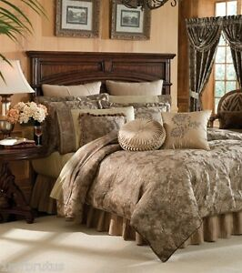6 Pc Croscill Botticelli King Comforter Set Amp Euro Shams