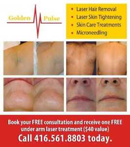 6 sessions Full Face Laser Hair Removal with SOPRANO XLI $200