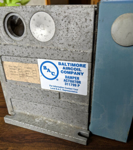 BAC Damper Actuator unit 311799P Baltimore Aircoil Company