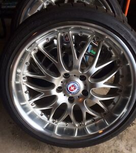 """5x120 19"""" wheels and tires complete pkg Price Drop $1200"""
