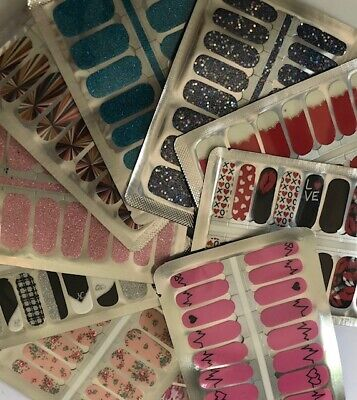 Buy 3 Get 1 FREE Nail Polish Strips $3