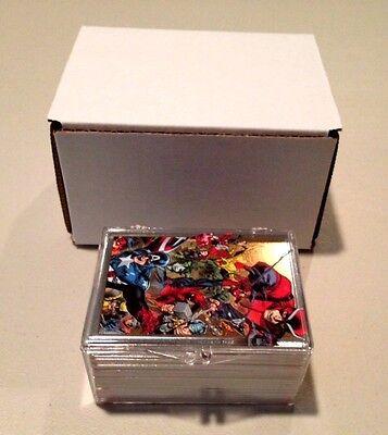 2014 Marvel Universe 2 Complete 1-90 Base Card Set (Rittenhouse) 90 Cards
