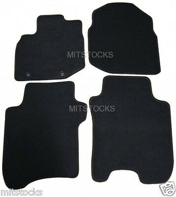 FIT FOR 2009 2013 HONDA FIT ALL MODELS BLACK NYLON CARPET FLOOR MATS NEW