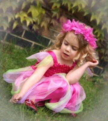 BARGAIN 10 X GIRL'S assorted FANCY DRESS BIRTHDAY FLOWER HEAD - Buy Tinkerbell Costume
