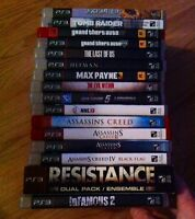 PlayStation 3 with games / avec jeux!!