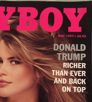 1997 PLAYBOY DONALD TRUMP Interview 2016 Playmate interview w American President