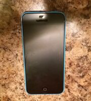 Blue iPhone 5C 8 gig Rogers