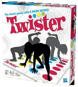 Hasbro Twister Game for All with 2 More Moves