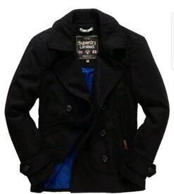 Superdry man coat size xl